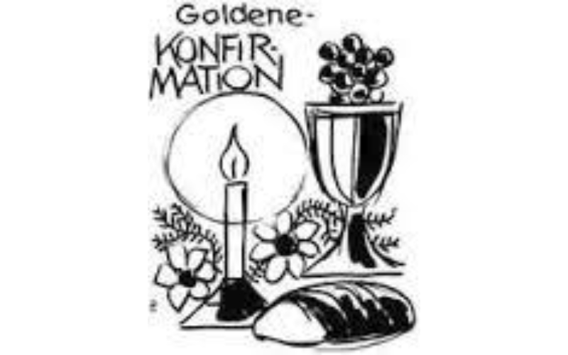Goldene Konfirmation 2021